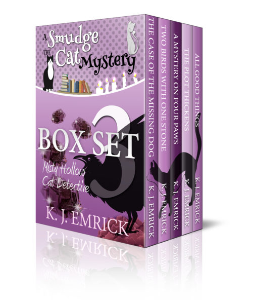 The Misty Hollow Cat Detective – Away From Home (Darcy Sweet Mystery) (A Smudge The Cat Mystery Box Set 3)