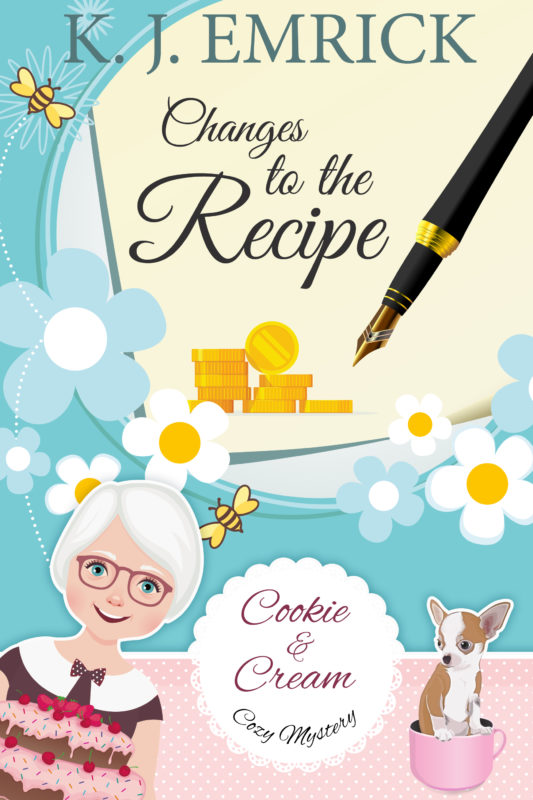 Changes to the Recipe (A Cookie and Cream Cozy Mystery Book 4)