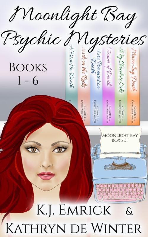 Moonlight Bay Psychic Mysteries: Short Read Box Set 1 – Books 1-6 (Moonlight Bay Psychic Mystery Box Set)