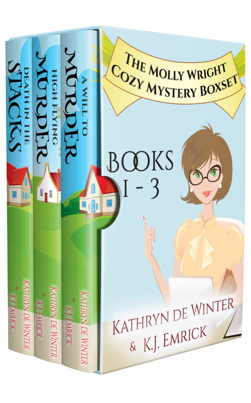 Molly Wright Cozy Mystery Box Set – Books 1-3